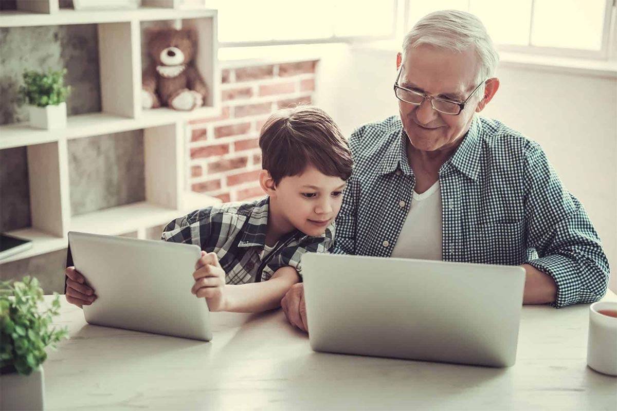 Why do we need to educate older people on technology?
